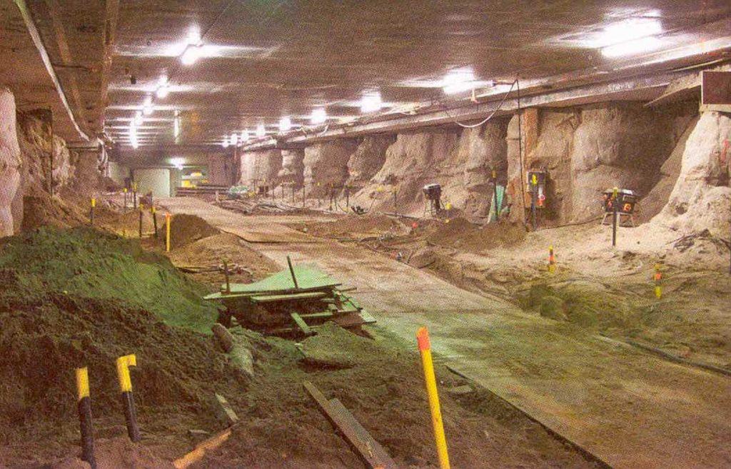 Souterrain tramtunnel Den Haag